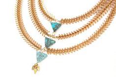 Dji Fishbone Necklace - DNA (the shop)