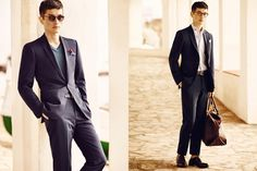 Mango Man 2015 Suit Connection Lookbook | FashionBeans.com
