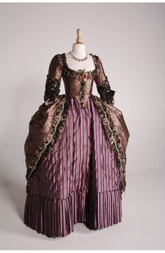 Costume designed by Michael O'Connor for Keira Knightley in The Duchess (2008). From Cut! Costume and the Cinema