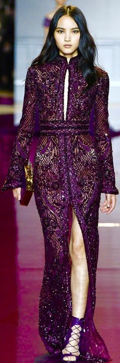 Glam Dresses, Pretty Dresses, Beautiful Dresses, Glamorous Evening Gowns, Evening Dresses, Colourful Outfits, Colorful Fashion, Zuhair Murad, Chic Outfits