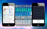 Despite this, TaiG Jb team has now released a beta version for the iOS 9.3.3 jailbreak directly from your device without using a PC. This is the easiest way to download Cydia for iOS 9.3.4 and lower running devices.