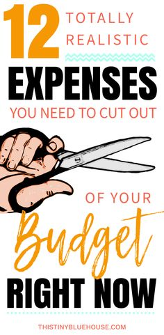 Life can get expensive am I right? Here are 12 (yes 12!) realistic expenses you need to cut out of your budget right now to start saving money. These 12 things are common to just about every lifestyle and can save you a ton of money! #moneysavingtips #moneysavingideas #budgetingtips #budgetingtipsforbeginners #tips&trickstosavemoney #frugalliving #budgetingideas #moneysavinghacks