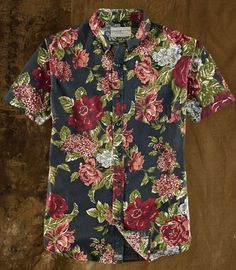 Floral short-sleeve shirt ($65) by Ralph Lauren Denim & Supply, ralphlauren.com   - Esquire.com