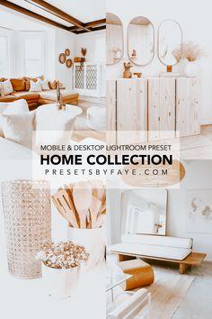 Professional Lightroom Presets, Scandinavian Home, Instagram Ideas, Instagram Feed, Home Collections, Traveling By Yourself, 10 Mobile, Desktop, Indoor
