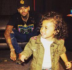 Chris & baby girl ❤️