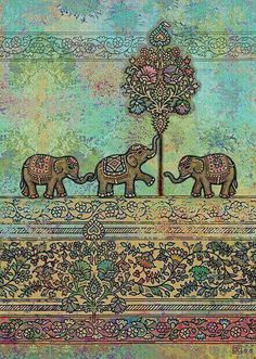 Boho Psychedelic Elephant Tree of Life Floral Tapestry Hippy Mandala Gypsy Wall Hanging Sheet Coverlet Picnic blanket Bedspread Curtain Decor Table Couch Cover Beach Yoga Throw Art Indien, Posca Art, Elephant Tapestry, Bug Art, Elephant Love, Indian Elephant Art, Elephant Family, Baby Elephants, Art History