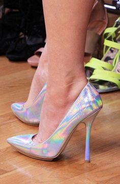 Metallic Heels by Stella McCartney #WNTW