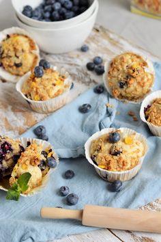 Buttermilch Frühstücksmuffins mit Heidelbeeren (von sugar meets chili)