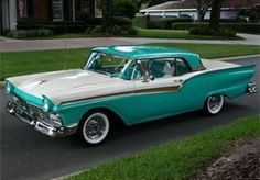1957 Ford Fairlane Skyliner Retractable Hardtop Convertible.
