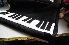 how to make a piano shoulder bag - PURSES, BAGS, WALLETS