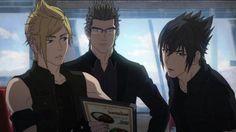 Final Fantasy 15: Brotherhood: Final Fantasy XV - Anime-Series... Noctis, Prompto