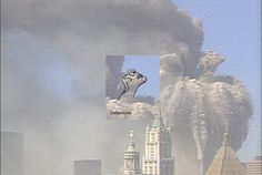 Real Ghost Pictures of Demons | As the tower collapsed, it almost resembled another demon.