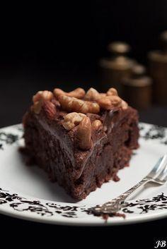 Glutenvrije chocolade-hazelnoottaart
