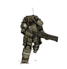Exoskeleton by Csp499.deviantart.com on @DeviantArt