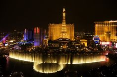 Get a room with this view at Bellagio. Romance...