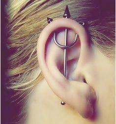 trident vertical industrial piercing