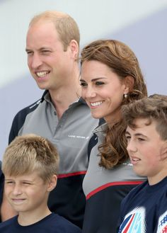 """Pin for Later: Prince William Jokes About """"Spoilt"""" Prince George at a Racing…"""