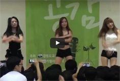 Esto es lo que pasa cuando un grupo de CHICAS baila en un colegio de hombres