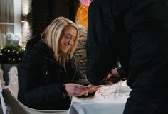"""Charlotte said """"Yes"""" - looks like there will be a new Mrs Vara in town."""