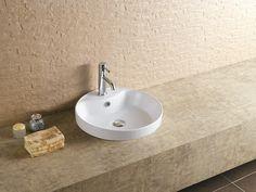 47cm Waschbecken Waschtisch Einbauwaschbecken Handwaschbecken Einbaubecken rechteckig mit Überlauf EWK-1047A
