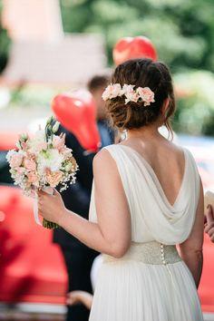 Brautstrauß & Haarschmuck in Pastell * Hochzeit * mooi decoration