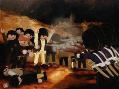 Galerie - Richard Unglik Playmobil Legos, Playmobil Toys, Famous Artwork, Cartoon Crossovers, Heart For Kids, Legoland, Romanticism, Conceptual Art, Art Plastique