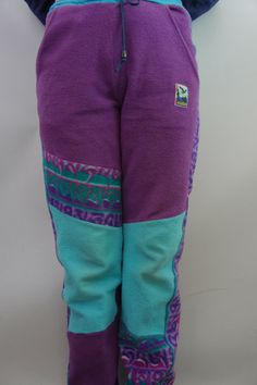 Vintage 80s 90s Salewa Patagonia Style Fleece by SycamoreVintage