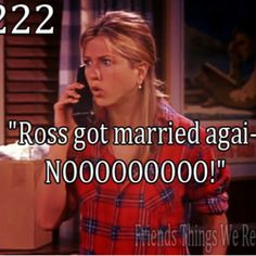 Still married to Ross...