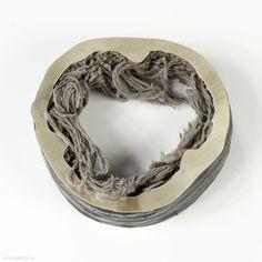 Marine Stampfli - bracelet Paradoxes 2011, silver, cotton, resin – Switzerland, Geneva, HEAD