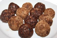 Cacao Mint Bliss Balls Recipe