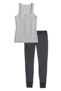 Pyjama débardeur et pantalon
