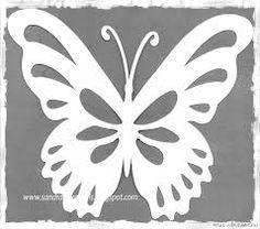 Imagem relacionada Butterfly Stencil, Butterfly Drawing, Butterfly Template, Butterfly Crafts, Flower Template, Rolled Paper Flowers, Paper Flowers Diy, Stencil Patterns, Felt Patterns