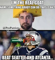 Since the Pats and Packers have a matchup this season, all the trolls are coming out of the woodwork to talk about @aaronrodgers12 Being…