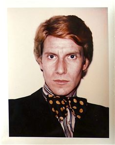 1972 - Yves Saint Laurent by Andy Warhol - Polaroid