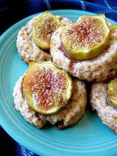 Fig and Ginger Scones- could sub non dairy butter and cream to make vegan