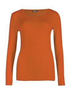 5c68cb304e4 New Womens Plain Tshirt Ladies Long Sleeve Scoop Neck TShirt Top Plus Sizes  8-26 Ladies Long Sleeve
