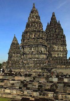 Indonesia, Java, Prambanan, hindu temples,  Yogyakarta, Java, Indonesia Hindu Temple, Yogyakarta, Place Of Worship, Where The Heart Is, World Traveler, Palaces, Temples, Wander, Architecture