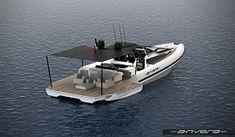 Anvera parteciperà al Versilia Yachting Rendez-Vous presentando il nuovo modello Anvera 48 Rigid Inflatable Boat, Rib Boat, Wakeboard Boats, Motorboat, Sport Boats, Boat Interior, Sailing Boat, Yacht Design, Luxury Yachts