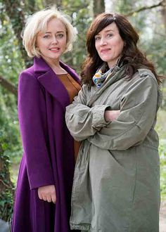 Maria Doyle Kennedy teamed up Commitments co-star Angeline Ball for BBC Eastenders spinoff Red Water last year. I Fall In Love, Falling In Love, Irish News, Red Water, Orphan Black, Outlander, A Team, Tv Series, Interview