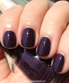 China Glaze Charmed, I'm Sure...deep purple