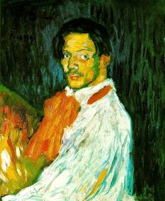 Picasso, Pablo (1881-1973) - 1901 Yo Picasso by RasMarley, via Flickr