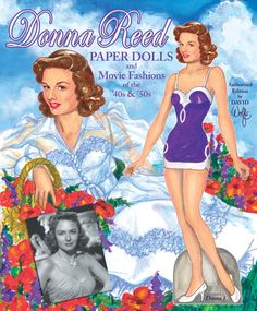 Donna Reed Paper Dolls.  My mom threw out my Donna Reed paper dolls when I was young, and I was devastated.  Decades later my family got together and bought some on E-bay for me.  They paid a fortune for them, but they are so worth it!  :-)