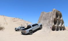 Ocotillo Wells SRVA Training Park at Truckhaven is a great place to test your off road skills in a controlled environment. Toyota Tundra Off Road, Toyota Trd Pro, Tundra Trd Pro, Tacoma Trd, 4x4 Trucks, Cabins In The Woods, Fuel Economy, California Travel, Wells