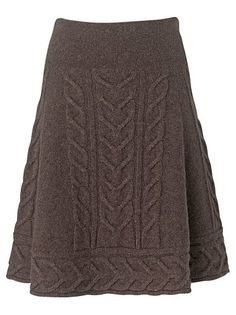 Cable knit skirt, Phase Eight