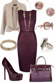 A touch of nude and lots of plum...plumtacular!!