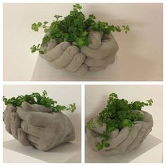 Best 11 Billedresultat for betoniaskartelu What a neat idea to try – SkillOfKing. Concrete Planter Molds, Hand Planters, Concrete Bags, Cement Art, Concrete Crafts, Concrete Projects, Concrete Garden, Concrete Design, Diy Garden Decor