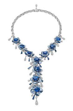 Bulgari debuts at Paris Biennale des Antiquaires in 2012 Bvlgari Necklace, Bulgari Jewelry, Gems Jewelry, High Jewelry, Diamond Jewelry, Jewelry Accessories, Jewelry Necklaces, Women Jewelry, Unique Jewelry