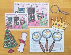Materialwiese: Lesespur für Weihnachten