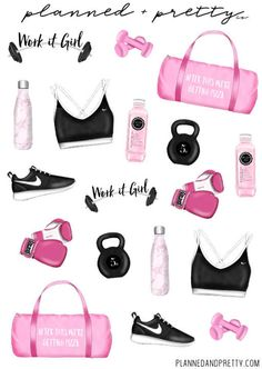 WORKOUT STICKERS planner stickers erin condren life | Etsy Gym Bag Essentials, Teen Christmas Gifts, Teen Trends, Arc Notebook, Best Amazon Products, Silhouette Cameo Tutorials, Personal Planners, Erin Condren Life Planner, At Home Gym