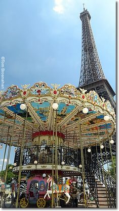 Eiffel Tower & Carrousel, Paris, France